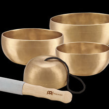 Load image into Gallery viewer, Meinl Universal Singing Bowl Set | SB-U-1750 - Includes: SB-U-400 SB-U-500 SB-U-600 SB-C-250