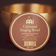 Load image into Gallery viewer, Meinl Universal Series Singing Bowl | U-500 - 4.9-5.1""