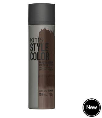 Kms Style Color Spray-On Color Frosted Brown 3.8 Oz