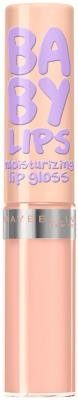 Maybelline New York Baby Lips Moisturizing Lip Gloss, Taupe With Me 0.18 Oz