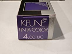 Keune Tinta Color Ultimate Cover 4.00 Medium Brown, 2.1 Oz / 60 Ml