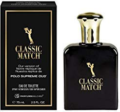 Belcam Bath Therapy Mens Fragrance Classic Match Polo Oud Cologne, 2.54 Fluid Ounce