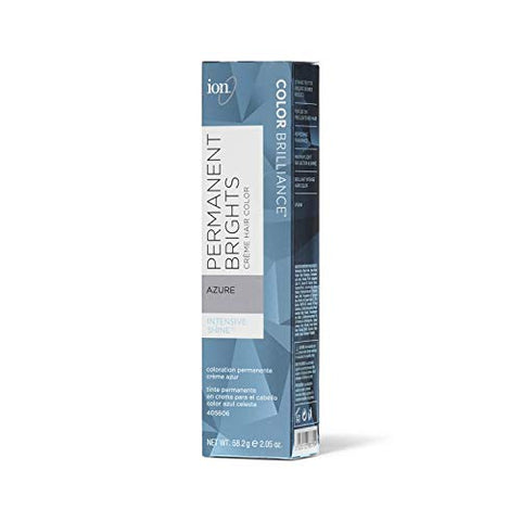 Ion Permanent Brights Creme Hair Color Azure Azure