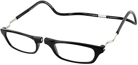 Clic Magnetic Xxl Reading Glasses In Black ; +1.25