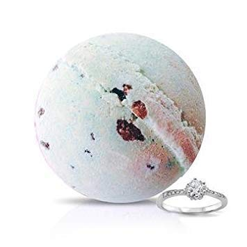 Soapie Shoppe Select A Size Ring Bath Bomb, Seaweed And Peppermint, Size 6