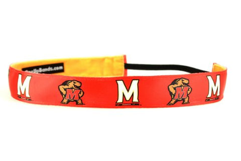 One Up Bands Women'S Ncaa University Of Maryland Team One Size Fits Most