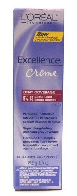 Loreal Excellence Creme Color #9 1/2.13 X-Lt Bge Blnd 1.74 Ounce (51Ml)