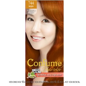 Confume Herbal Hair Color - 744 Eucalyptus Orange By Kwailnara