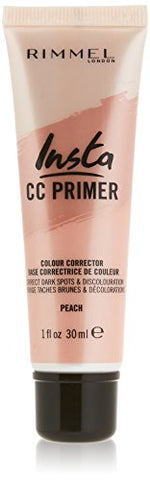 Rimmel Insta Flawless Color Correcting Primer, Peach (1 Count)