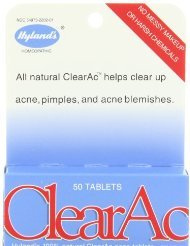 Hyland'S Clearac 100% Natural Acne Tablets, 50 Tablets