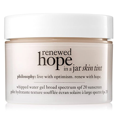Philosophy Renewed Hope In A Jar Skin Tint Spf 20, 6 Almond, 1 Ounce