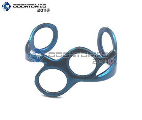 Odontomed2011 Personalized Barber Hairdressers Scissors Bracelet Blue New Style Steel Blue Coated Odm