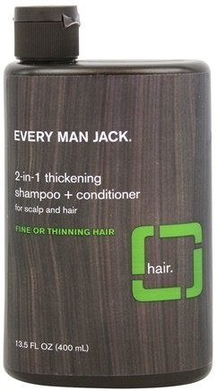Presidio Brands Inc. - Every Man Jack Shampoo 2 In 1 Thickening 13.5 Oz -