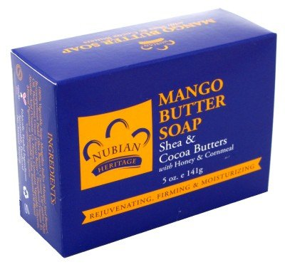 Nubian Soap Mango Butter With Shea &Amp; Cocoa Butter 5 Oz.