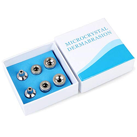 Dermabrasion Machine Tips, Diamond Microdermabrasion Dermabrasion Replacement Beauty Tools Skin Care Diamond Dermabrasion Replacements 6 Tips