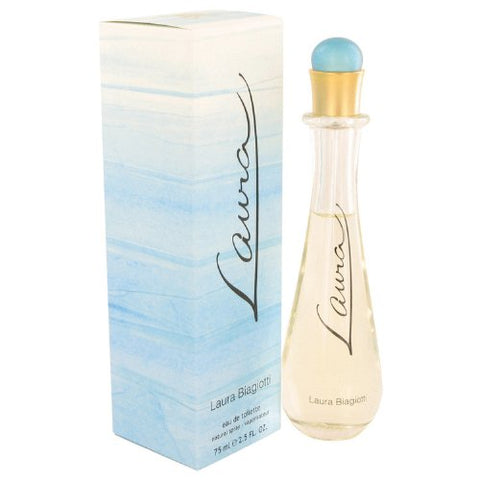 Laura Eau De Toilette Spray By Laura Biagiotti 2.5 Oz Perfume For Women