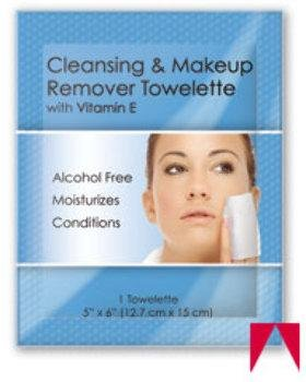 Facial Makeup Remover Wipes Ind. Wrapped (Oil, 250)