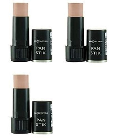 Max Factor Pan Stik Foundation #60 Deep Olive  + Facial Hair Remover Spring