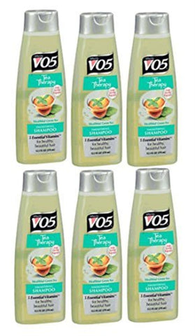 Alberto Vo5 Tea Therapy Healthful Green Tea Smoothing Shampoo For Unisex, 15 Ounce