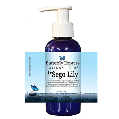 Lesego Lily Lotion 4Oz - By Butterfly Express