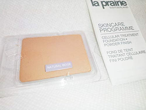La Prairie Cellular Treatment Foundation Powder Finish - Natural Beige Foundation 14,2G Tester Not In Box