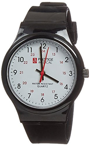 Prestige Medical Student Scrub Watch, Black, 1.65 Ounce