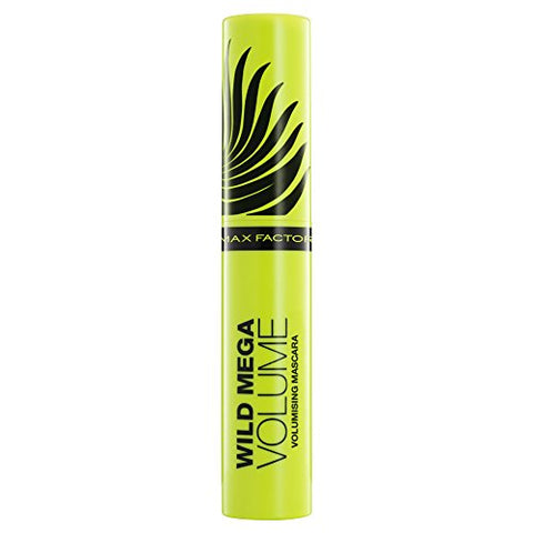 Max Factor Wild Mega Volume Volumising Mascara For Women, Black, 11 Ounce