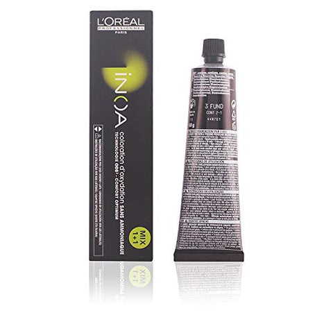 L'Oreal Professional Inoa, No. 3 Dark Brown, 2.1 Ounce