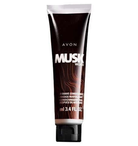 Avon Musk Wood After Shave Conditioner