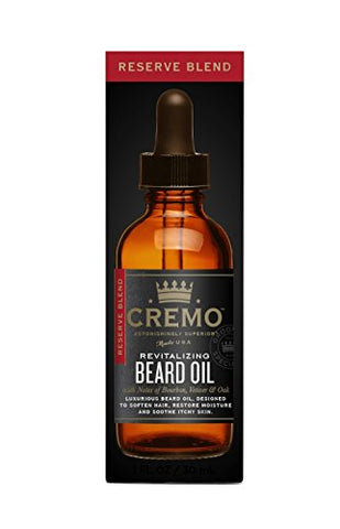 Cremo Reserve Blend Beard Oil 1Oz