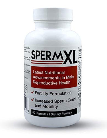 Sperm Xl - Sperm-Count, Fertility &Amp; Mobility Nutritional Supplements For Men (60-Capsules) (1)