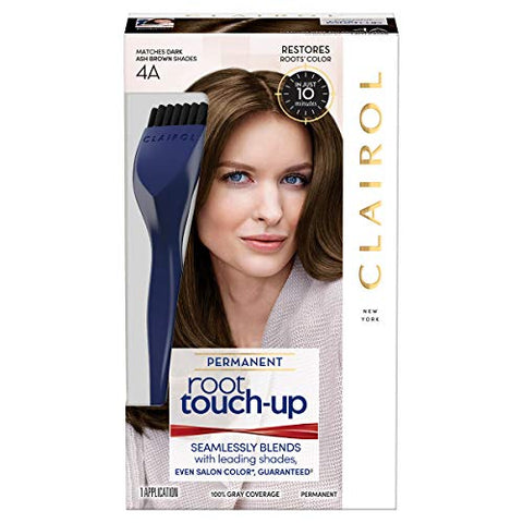 Clairol Nice N' Easy Root Touch-Up Hair Coloring Tools, 4A Dark Ash Brown