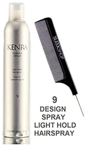 Kenra Design Spray 9, Light Hold Hairspray (Stylist Kit) Hair Spray (10 Oz / 283 G)