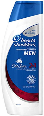 Head&Amp;Shldr 2In1 W/Old Spi Size 13.5Z H&Amp;S 2In1 W/Old Spice 13.5Oz
