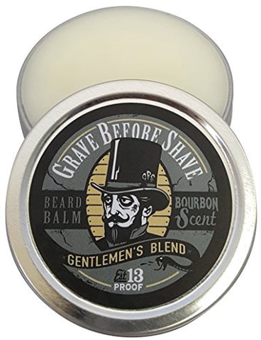 Grave Before Shave Gentlemen'S Blend Beard Balm (Bourbon Scent) (4 Oz.)