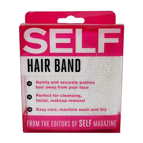 Self Spa Hair Band (White)