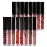 Coosa 16Pcs Madly Matte Lipstick Lipgloss Bold Vivid Color Matte Lipgloss (16 Colors For Choose) (16Pc)