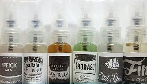 Aftershave Sample Pack