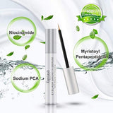 Eyelash Growth Serum, Playmont Eyebrow Growth Serum, Fda Approved Natural Brow &Amp; Lash Boost Enhancer Serum For Longer, Thicker Eyelashes And Fuller Eyebrows 5Ml