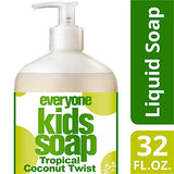 - Everyone? 3-In-1 Soap For Kids, Tropical Coconut Twist, 32 Oz