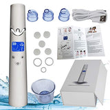 Blackhead Remover,Pore Vacuum Suction Remover Facial Pore Cleanser Electric Acne Comedone Extractor Kit Usb Rechargeable Blackhead Suction Tool Set With Large Led Display For Women And Men (Blue)