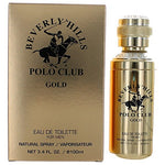 Bhpc Gold By Beverly Hills Polo Club, 3.4 Oz Edt Spray For Men