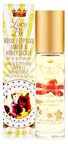 Lucy B'S Roll-On Perfume Oil Duo, Egyptian Amber &Amp; Honeysuckle