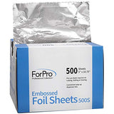 Embossed Pop-Up Dispenser Foil Sheets 500S 5 X 10.75  500-Ct. 12-Pk.