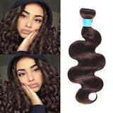 Women'S Day Gifts Body Wave Weave Wefts Hair Bundles Brazilian Virgin Remy Human Hair Extensions Deal With Mixed Lengths 10-24 Inch 100G/Bundle 10 (#2 10Inch)