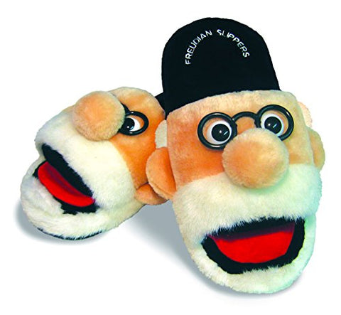 Freudian Slippers - Comfy Plush Slip In Footwear - Size Medium