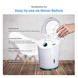 Nanosteamer Pro - Professional 4-In-1 Nano Ionic Facial Steamer For Spas - 30 Min Steam Time - Humidifier - Unclogs Pores - Blackheads - Spa Quality - Bonus 5 Piece Stainless Steel Skin Kit