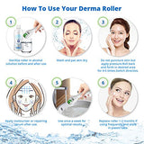 Derma Roller Kit For Face And Body, 0.25Mm Needle - Includes Storage Case