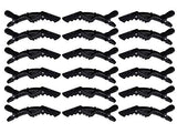 Oneleaf Styling Salon Hair Clips, Alligator Crocodile Hair Clips, Plastic Hair-Non-Slip Diy Accessories Hairgrip For Women And Girls