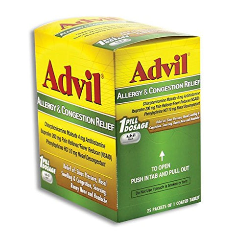 Advil Allergy &Amp; Congestion Relief 25 Count